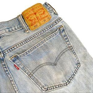 Vintage Levi's light wash 516 straight leg jeans